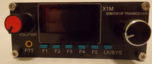 X1M PLATINUM 5-Band Amateur HF QRP Rig