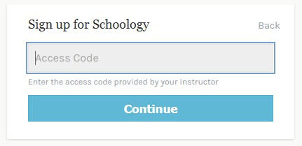 Schoology Screenshot