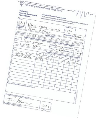 Sample of Foundation IPAR