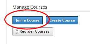 Jpining a new course with Schoology
